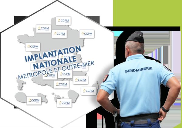 implantation nationale CGPM