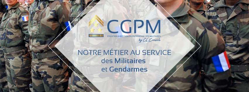 CGPM gestion patrimoine militaires et gendarmes